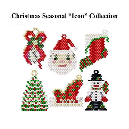 Christmas Icon Collection | Bead-Patterns.com