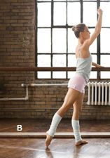 25-day Ballet Boot Camp towards a lean, sculpted dancer's body.  I might enjoy this!