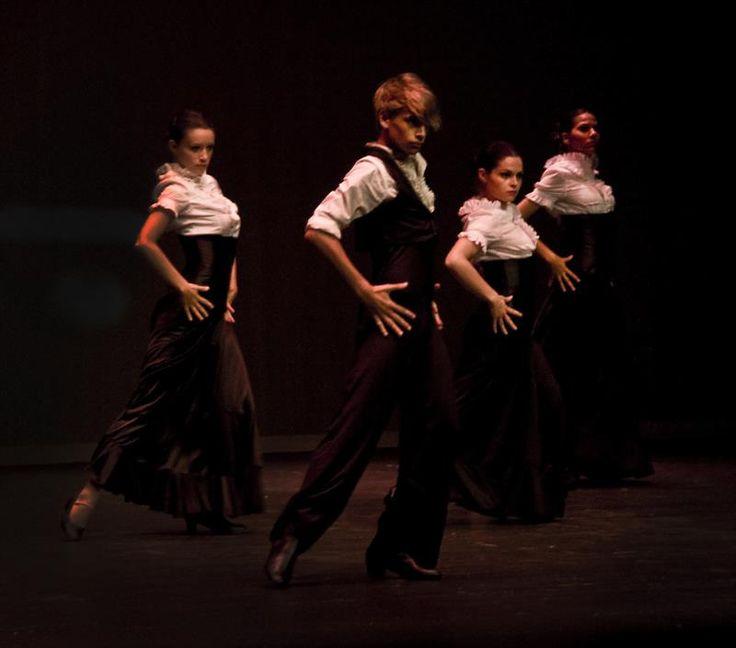 Испанские академические туфли для фламенко