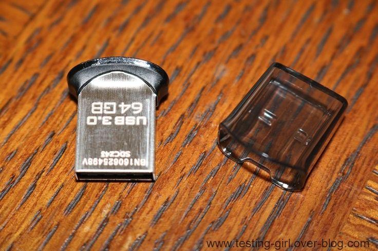 La nouvelle version de clé USB3.0 Ultra Fit de SanDisk