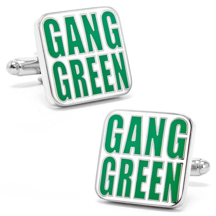 NFL Jets 'Gang Green' Cufflinks