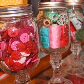 Tili Mason Glass Jar