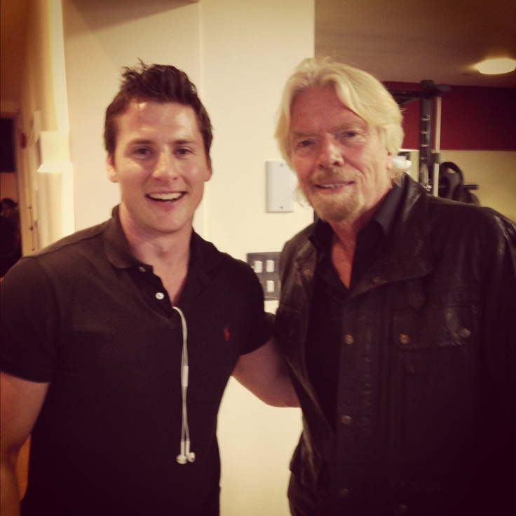 Fitness with Sir Richard Branson