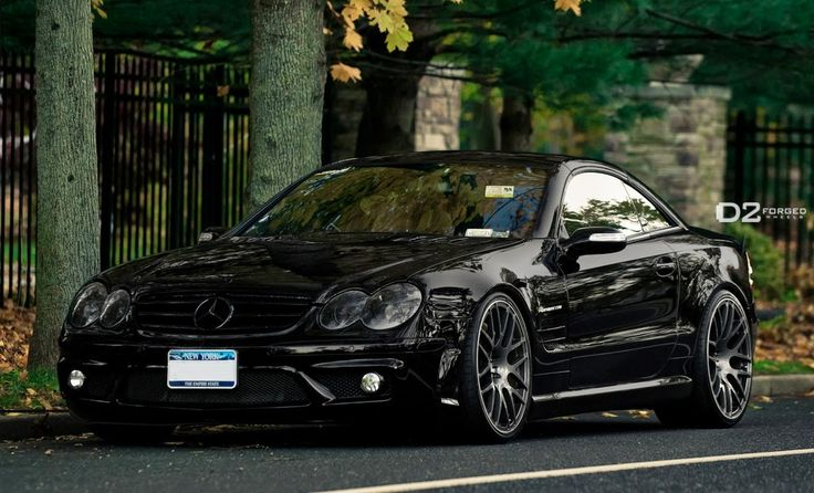 Mercedes-Benz R230 SL55 AMG on D2FORGED Wheels | BENZTUNING | Performance and Style