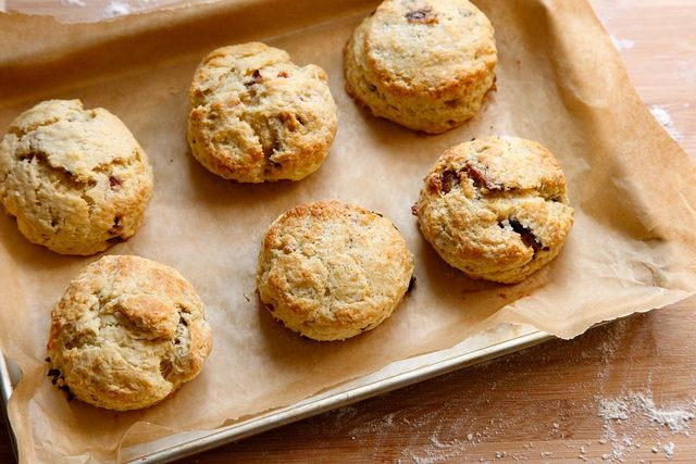 Bacon biscuits