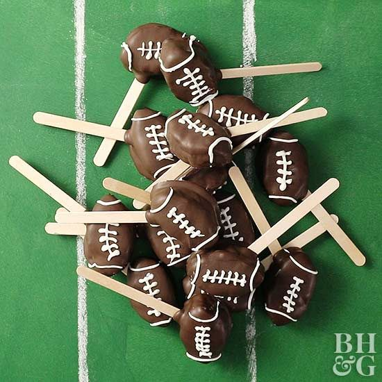 Cookie dough AND football? Touchdown!