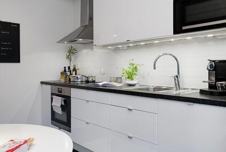 Cocina - Un piso de 38  m² perfecto para una persona