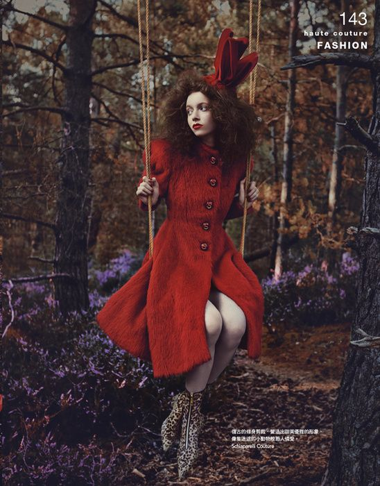Gabrielle Dubois для Vogue Taiwan November 2014