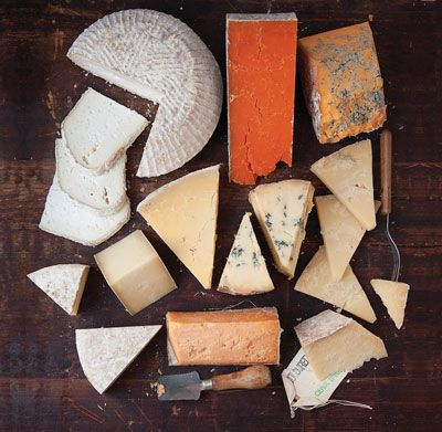 ENGLISH ARTISAN CHEESES//TODD COLEMAN// VIA SAVEUR