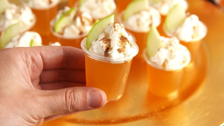 Fireball Cider Jell-O Shots Will Get Things Fired Up This Fall  - Delish.com
