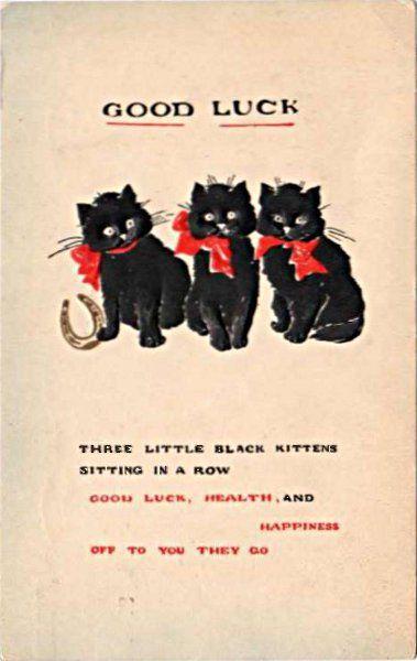 Znalezione obrazy dla zapytania good luck vintage