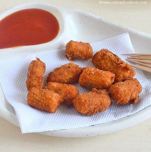 Baby corn golden fry recipe - Yummy starter with baby corn !