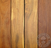 hardwood deck material because composite decking is not maintenance free