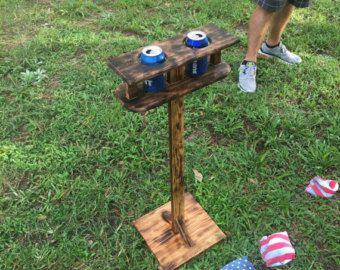 Drank houder bekerhouder cornhole games geschenk idee