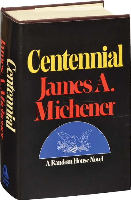 Awesome!  One of his best - and Michener is great!  James Michener's epic American novel Centennial