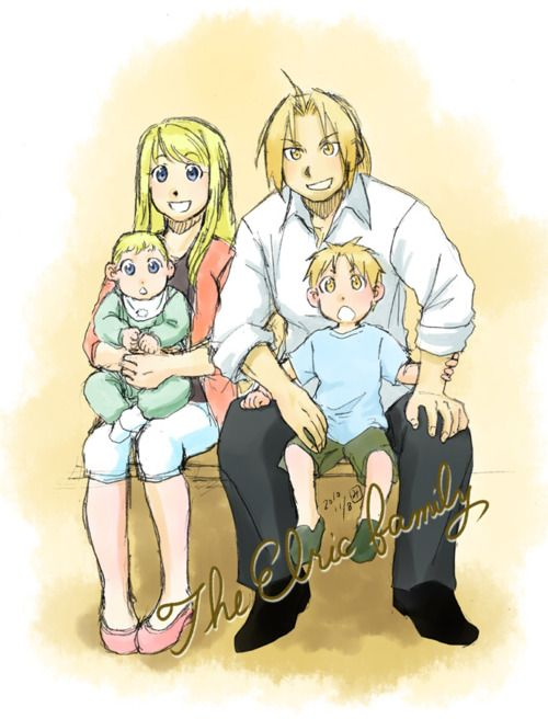 Family - edward-elric-and-winry-rockbell Photo | Fullmetal ...