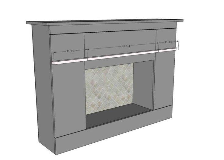 kaminumrandung selber bauen dekokamin anleitung schema konstruktion darstellung plan. Black Bedroom Furniture Sets. Home Design Ideas