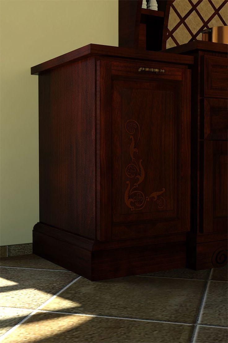 Ante in legno massello intarsiate a mano. Manifattura italiana. Realizzato dall' artista Giuseppina Alaimo.  #artigianato #legno #design #intaglio #intarsio #cucina #madeinitaly #stileclassico #arredamento #casa #italianstyle #sicilia #countrychic #stilerustico #handicrafts #wood #kitchen