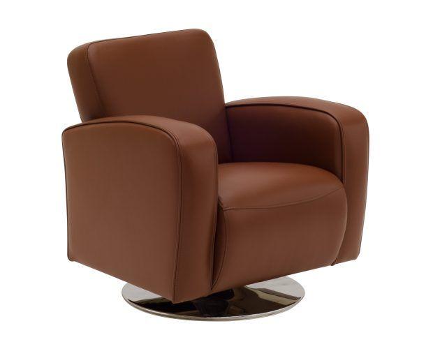 luxe comfortabele draaifauteuil verkrijgbaar in diverse kleuren stof of lederlook