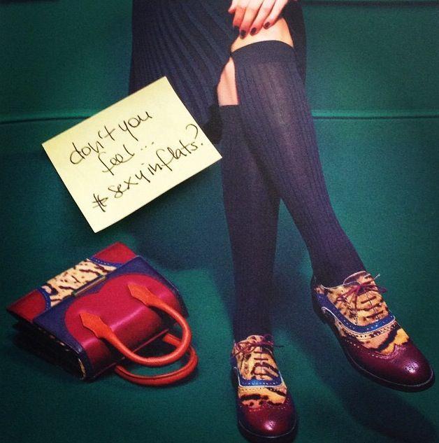 Ready for #fridaynight ? Don't you feel #sexyinflats ? #rossettiworld  www.fratellirossetti.com