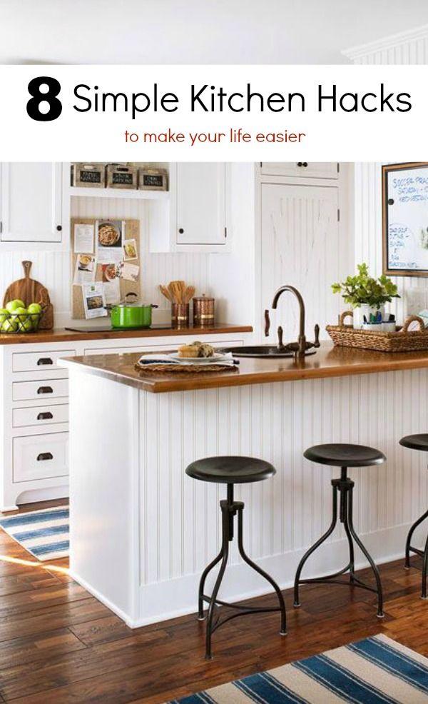Lifehacks | 8 Simple Kitchen Hacks brightboldbeautiful.com