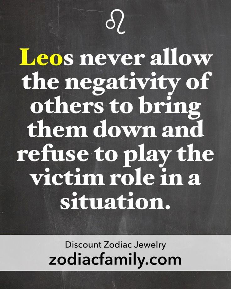 Never a victim
