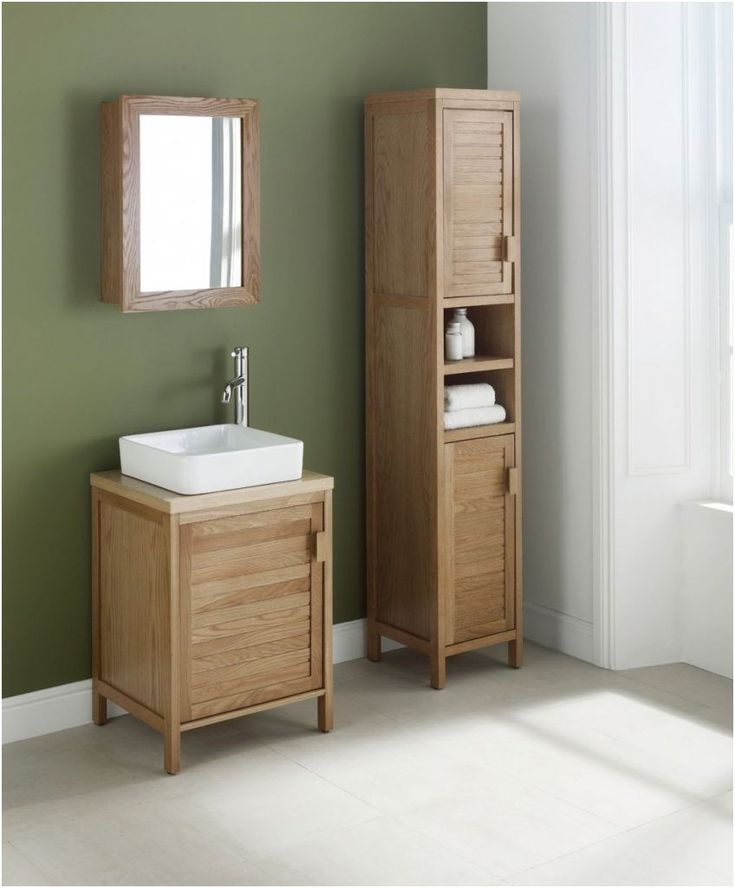 Tall Oak Bathroom Cabinets New Ideas From Cabinet