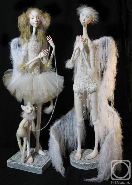 Fantasy | Whimsical | Strange | Mythical | Creative | Creatures | Dolls | Sculptures | Миненко Виктория by Victoria Minenco