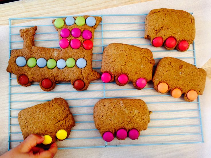 This recipe for yummy gingerbread trains is just packed with…