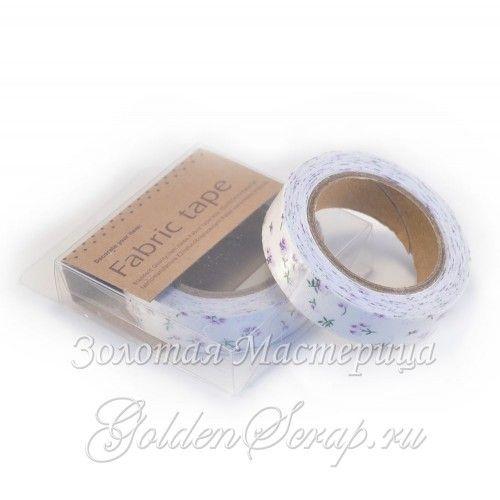 Тканевая лента на клейкой основе (LT-03) 1,5х500 см