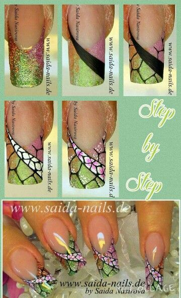 391 best nail art tutorial step by step images on pinterest step by step prinsesfo Gallery
