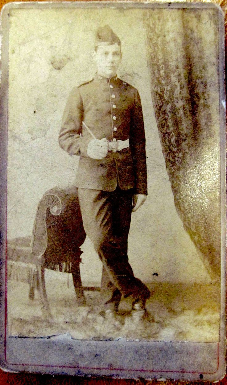 L/Corporal A Shepherd 1st Royal Welsh Fusiliers  c.1894