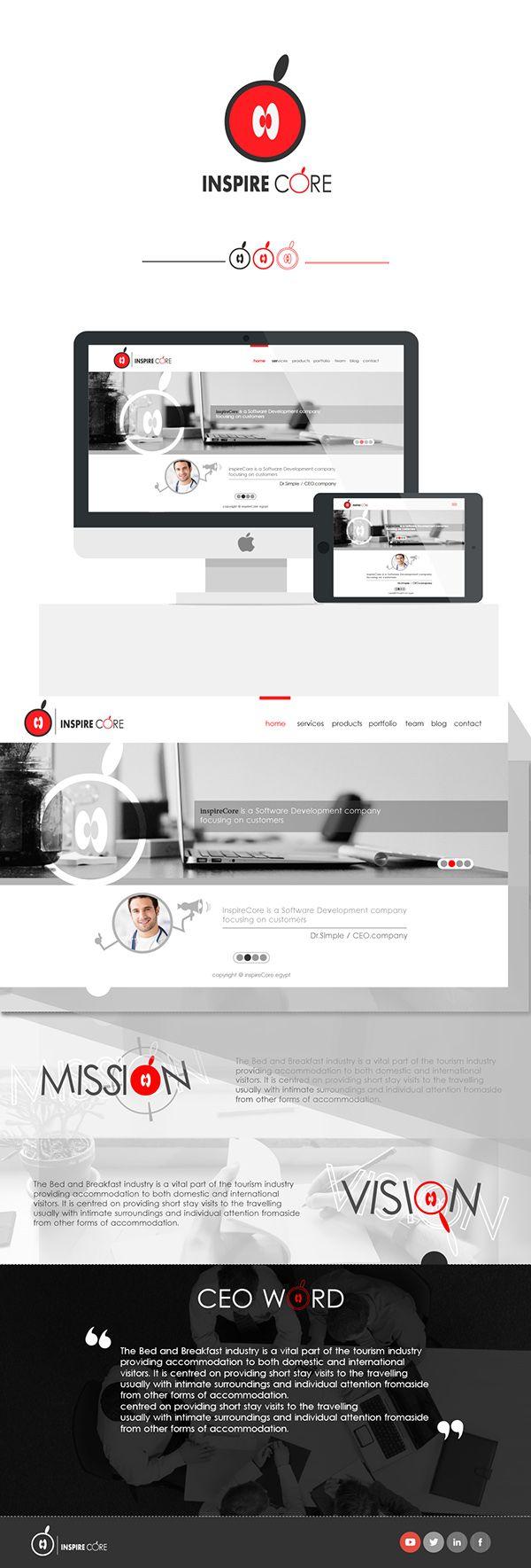 inspire core website