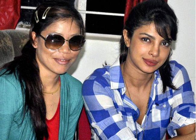 Priyanka's Mary Kom Looks