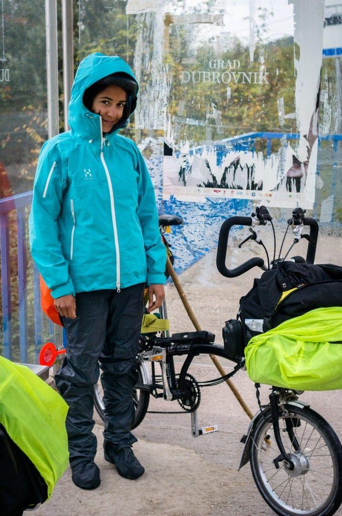 12.11.14 - Complet anti-pluie modèle féminin - sur la route de Dubrovnik - Croatie