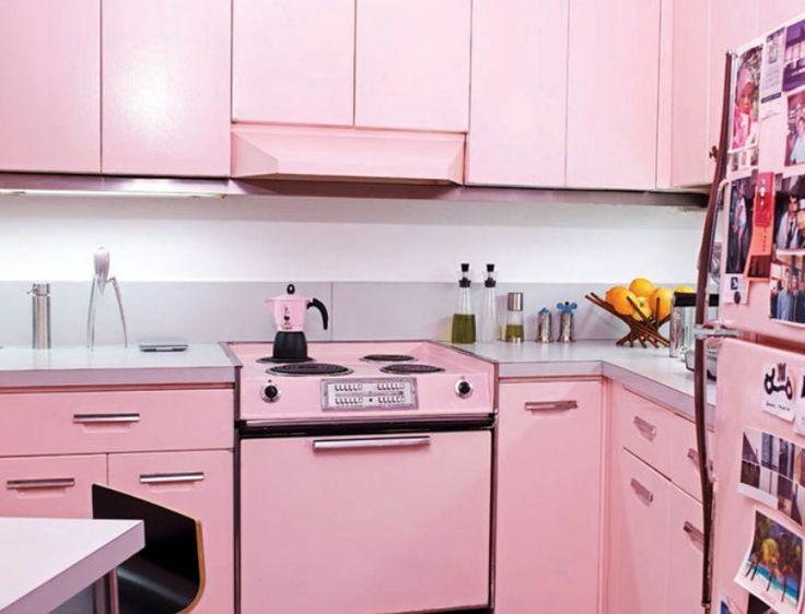 Kitchen Design Retro 74 best retro & vintage kitchens images on pinterest | vintage