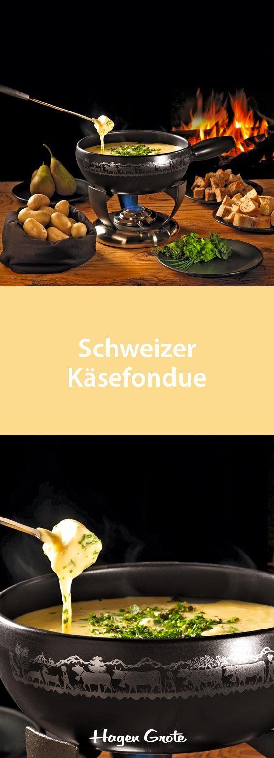 Schweizer Käsefondue