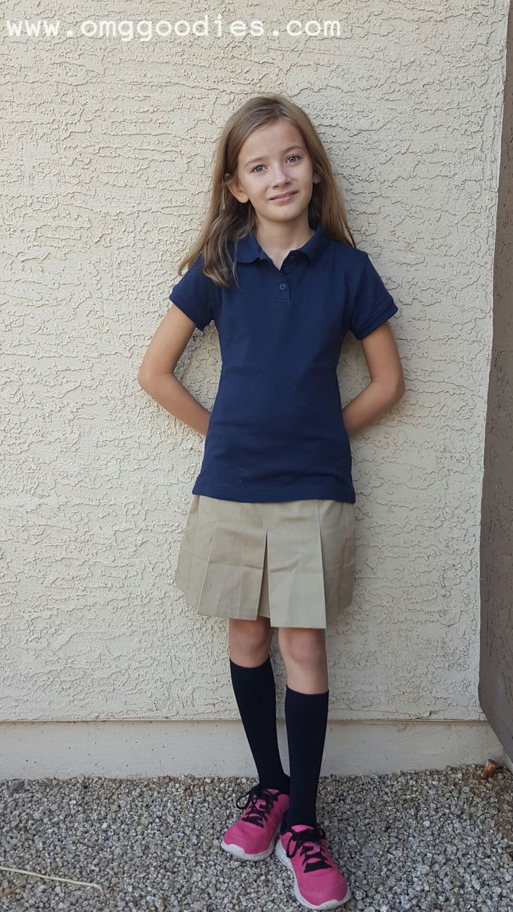 Classroom School Uniforms have styles which help students wear uniforms that fit their personality and are durable enough to handle the student lifestyle!