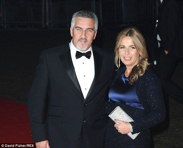 Paul Hollywood, left, has since been forgiven by his wife Alexandra, right, for his marital indiscretion with his co-star