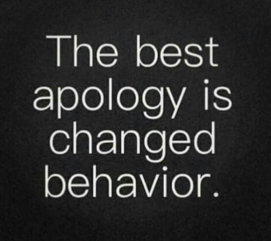Issues and differences will arise in your relationship! Remember this in order to truly apologize to your loved one.