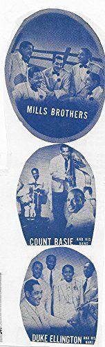 Count Basie, Duke Ellington, Donald Mills, Harry Mills, Herbert Mills, John Mills, The Mills Brothers, and Duke Ellington Orchestra in Reveille with Beverly (1943)