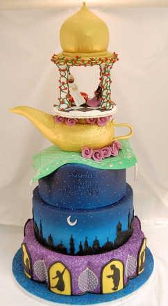 A whole new wooooorrrrlllld... of cake.