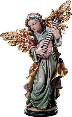 Angels - Angel with mandolin, 015 cm