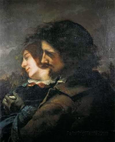 G. Courbet, Ερωτευμένοι στην εξοχή ή οι ευτυχισμένοι ερωτευμένοι. 1844. Musée des Beaux Arts Lyon.