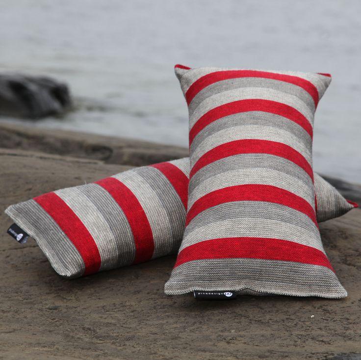 """Pillows to relax for the Sauna and bath"", saunatyynyt. #habitare2014 #design #sisustus #messut #helsinki #messukeskus"