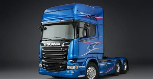 Italeri 3903 Scania R580 Streamline 6x4