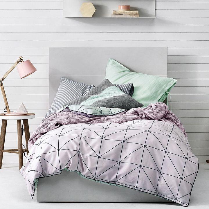 kids bedroom | pink + spearmint