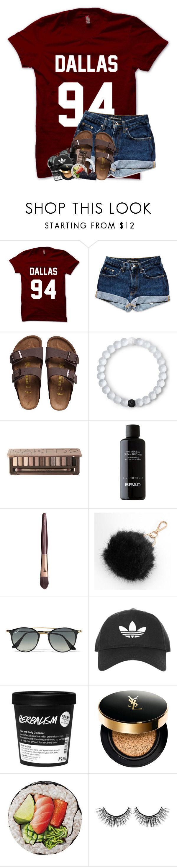"""""""better single than taken for granted"""" by theblonde07 ❤ liked on Polyvore featuring Birkenstock, Lokai, Urban Decay, Charlotte Tilbury, Mudd, Ray-Ban, Topshop, Yves Saint Laurent, Round Towel Co. and tarte"""