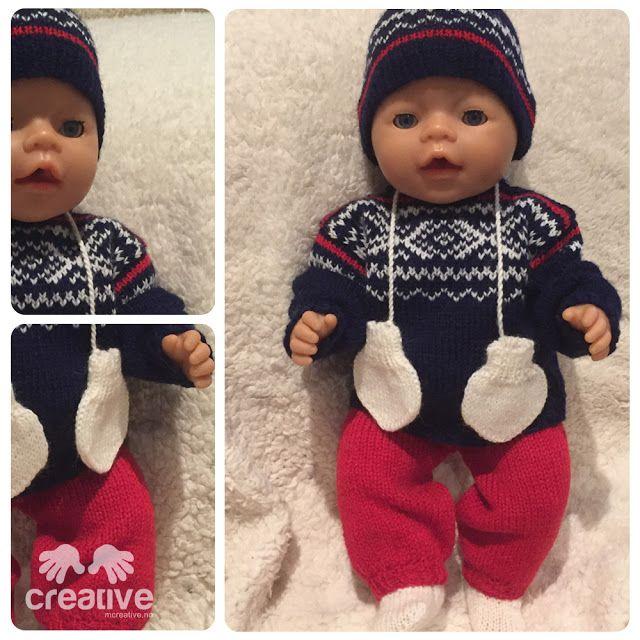 Babyborn dukketøy