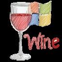 free desktop icons - wine!